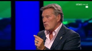 Glenn Hoddle is furious following Inter's comeback -