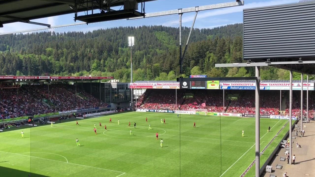 schwarzwald stadion sc freiburg 1 fc k ln 3 2 groundhopping youtube. Black Bedroom Furniture Sets. Home Design Ideas
