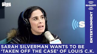 Sarah Silverman on Louis C.K.'s return to stand-up comedy