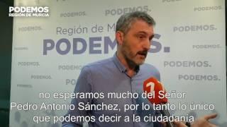 🗣 Óscar Urralburu sobre el procesamiento de PAS por Púnica