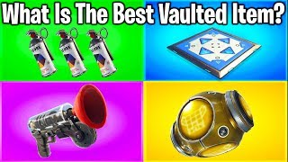 RANKING EVERY ITEM EVER REMOVED FROM FORTNITE!