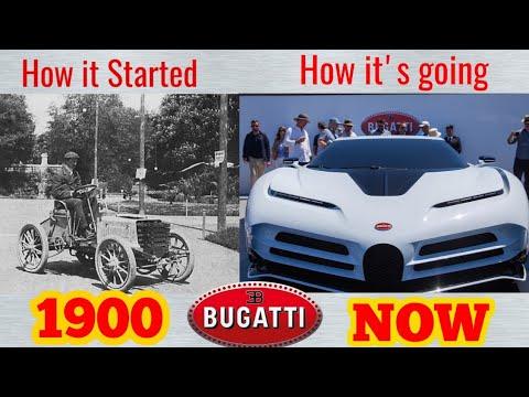 Bugatti Evolution (1900 - 2020) || Bugatti History