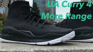"""In hand Under Armour Curry 4 """"More Range"""" Stephen Curry"""