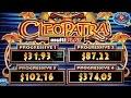 MAJOR PROGRESSIVE! Cleopatra multiPLAY Slot - BIG WIN, YES!