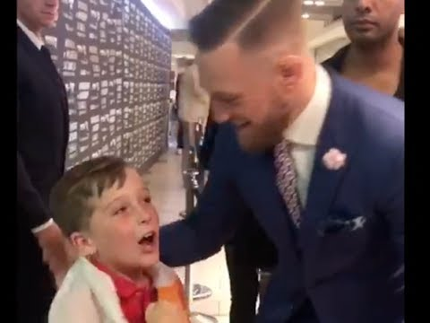 8-YEAR OLD BOXER FRANKEE HAYES OFFERS TO BE CONOR McGREGOR