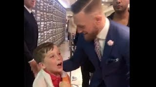 8-YEAR OLD BOXER FRANKEE HAYES OFFERS TO BE CONOR McGREGOR'S SPARRING PARTNER FOR FLOYD MAYWEATHER!