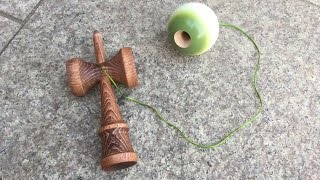 sweets kendama f3 low fade combo mossy atack