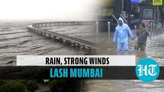 Cyclone Tauktae: Heavy rains lead to waterlogging in Mumbai; train services hit