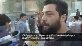 Imigranci terroryzują mieszkańców Lesbos