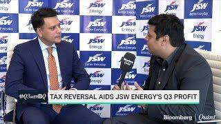 Tax Reversal Aids JSW Energy's Q3 Profit
