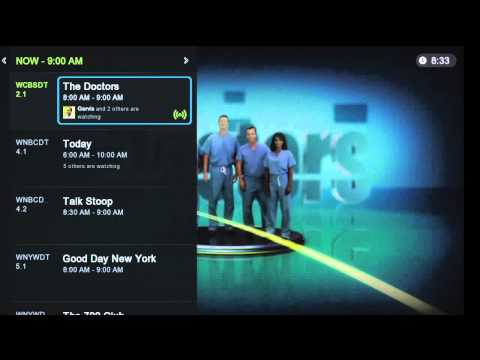 Boxee Live TV Walkthrough