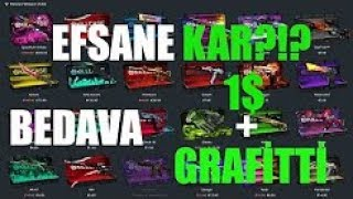 KİLLCASE | CS:GO KASA AÇMA | FREE 1$ Ve Grafitti !!!