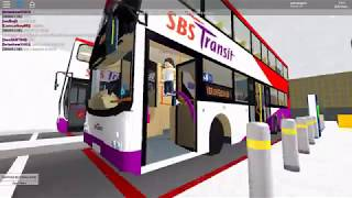 Singapore Bus Services Transit (Roblox)| launch of Kanford | Debut of the first SBST (Roblox) map|
