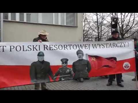 Pikieta przed siedzibą najgroźniejszej zorganizowanej grupy przestępczej w Krakowie