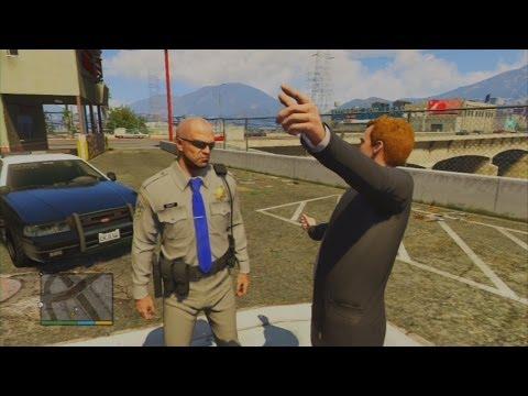 GTA V - The Things Officer Trevor Does For Bouncy Bouncy
