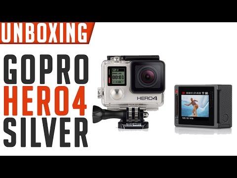 Gopro Hero 4 Silver Unboxing En Espa�ol