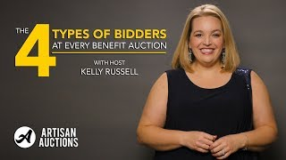 Benefit Gala Tips & Tricks | The Four Types of Bidders at Every Benefit Auction