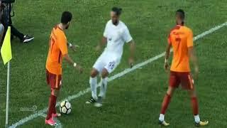 Yasin Öztekin ve Emrah Başsan'dan ilginç korner organizasyonu - Galatasaray 4-2 Eyüpspor
