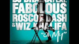 Dj Drama Feat. Fabolous, Wiz Khalifa & Roscoe Dash - Oh My Instrumental With Hook
