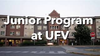 Junior Program at UFV