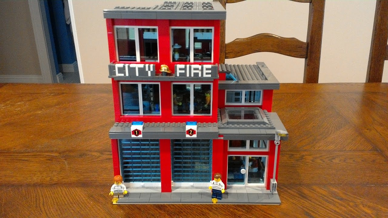 How To Build Lego Fire Station