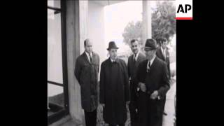 SYND 23-9-69 PRESIDENT CEAUSESCU AND PRESIDENT TITO MEET
