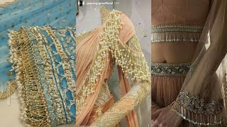 Indian Beaded Laces Designs||Wedding Dress Tapes Ribbon ||Bridal Belt Sashes