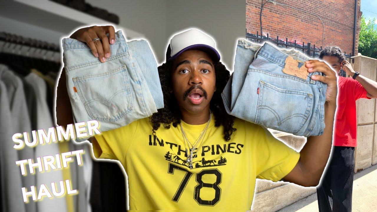 Raiding my Grandpa's Closet for Vintage clothing YouTube