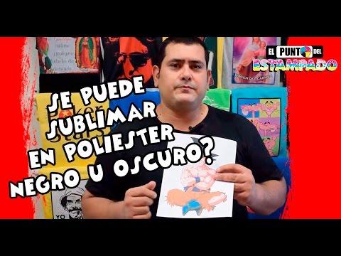 SE PUEDE SUBLIMAR POLIESTER OSCURO? - SUBLIMACIÓN - SERIGRAFIA