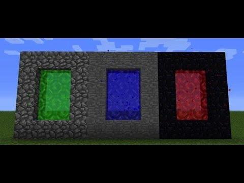 как в игре майнкрафт 1 8 9 делать портал без модов #7
