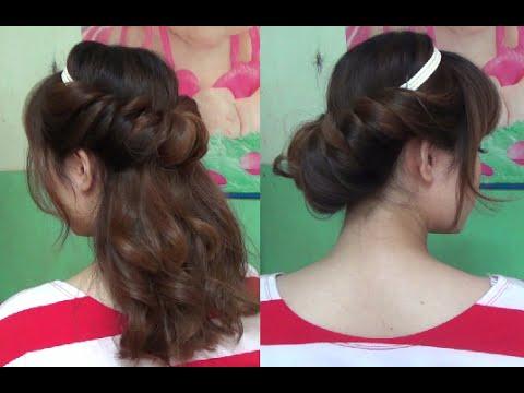 Hairstyles – 2 Kiểu Búi Tóc Đẹp Đơn Giản Bằng Băng Đô | Yêu Làm Đẹp | Tóm tắt những thông tin liên quan nhung kieu bui toc dep nhat đầy đủ