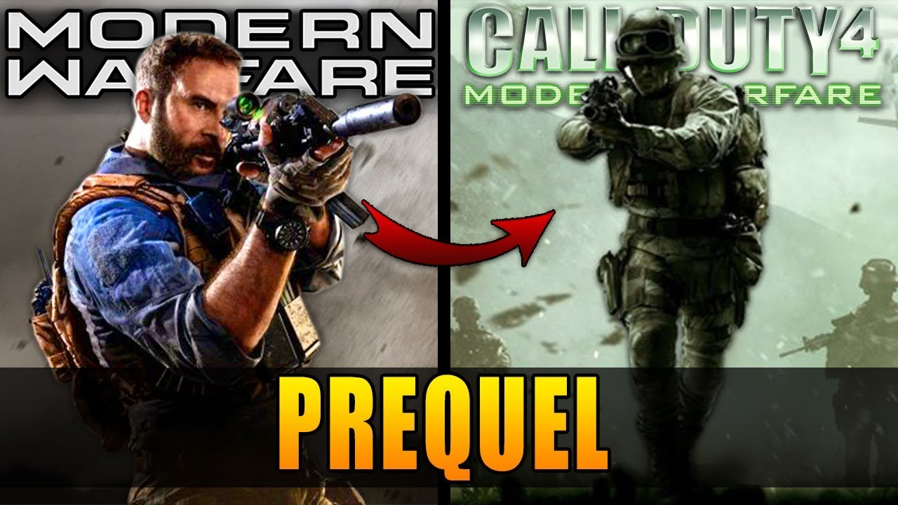 Modern Warfare Is Actually A Prequel To Call Of Duty 4 Modern Warfare Story Youtube