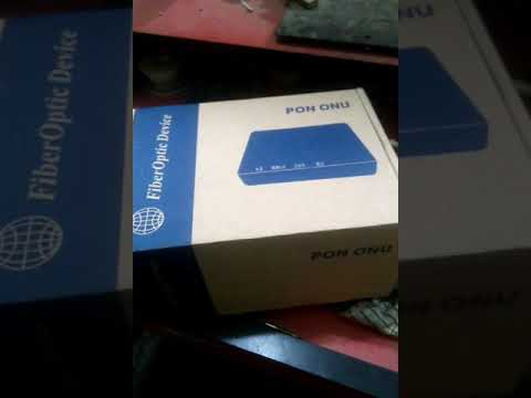 Pon (D-link)onu unboxing and review Adsoft Team