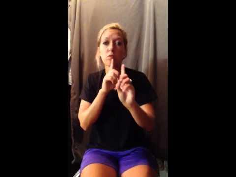 Allergies in ASL