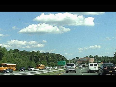 Bypassing Washington DC And Baltimore Maryland Rush Hour Traffic