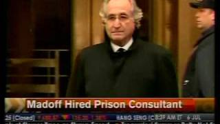 Madoff Hire Prison Consultant - Bloomberg