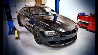 We Straight Piped my M6 V10 and it Sounded Like This - MUST HEAR!