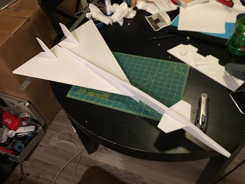 FT-70 Chuck Glider Build