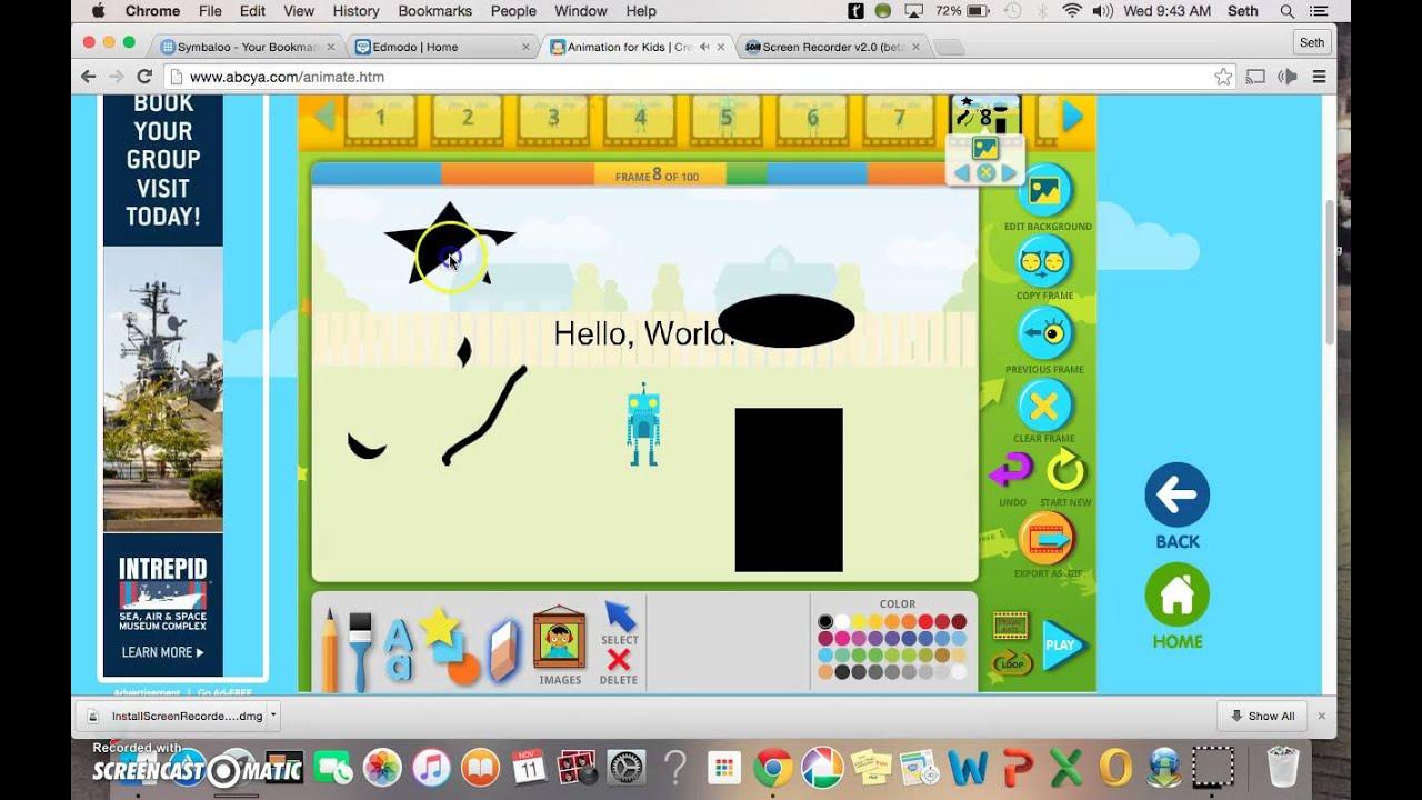 Abcya animate tutorial youtube.