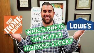 Dividend Stock DIY (Home Depot Vs. Lowes)