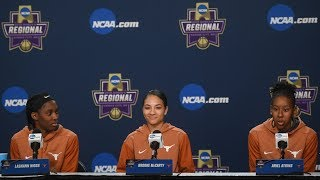 Texas Players Sweet 16 Press Conference [March 22, 2018]