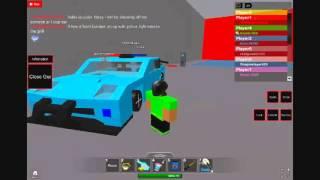 Roblox build and race Corvette zr1 cop car