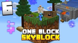 Minecraft Skyblock, But You Only Get ONE BLOCK (#6)