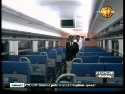 Sri Lanka's first express air-conditioned train makes first journey
