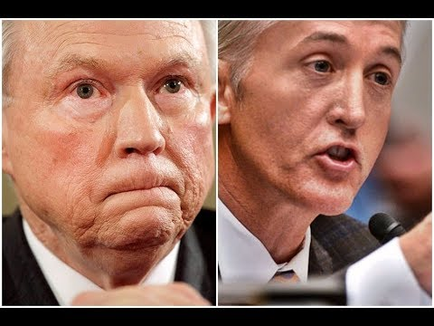 HEATED DEBATE On Justice Department Trey Gowdy Vs Jeff Sessions