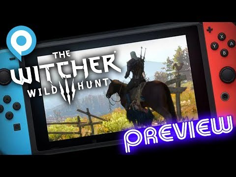 Nintendo Switch Witcher 3 handheld mode demonstrated