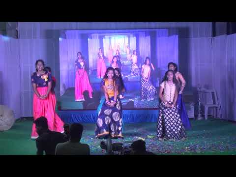 DANCE ON HINDI MEDLEY BY X CLASS  GIRLS