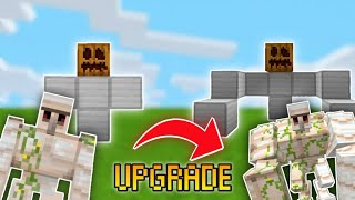 How to Upgrade an Iron golem in Minecraft