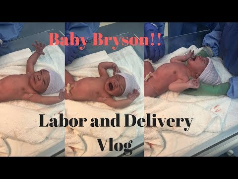 Labor and Delivery Vlog ! 36 Hour Labor + Hospital Stay