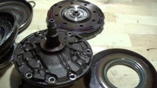 Устройство АКПП - Гидротрансформатор (Установка)